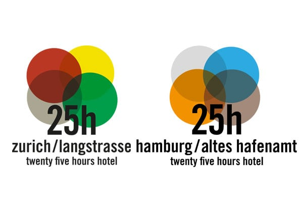 25hours Hotel Logos