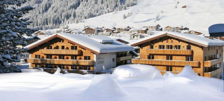 Hotel Gotthard Lech Panoramaansicht